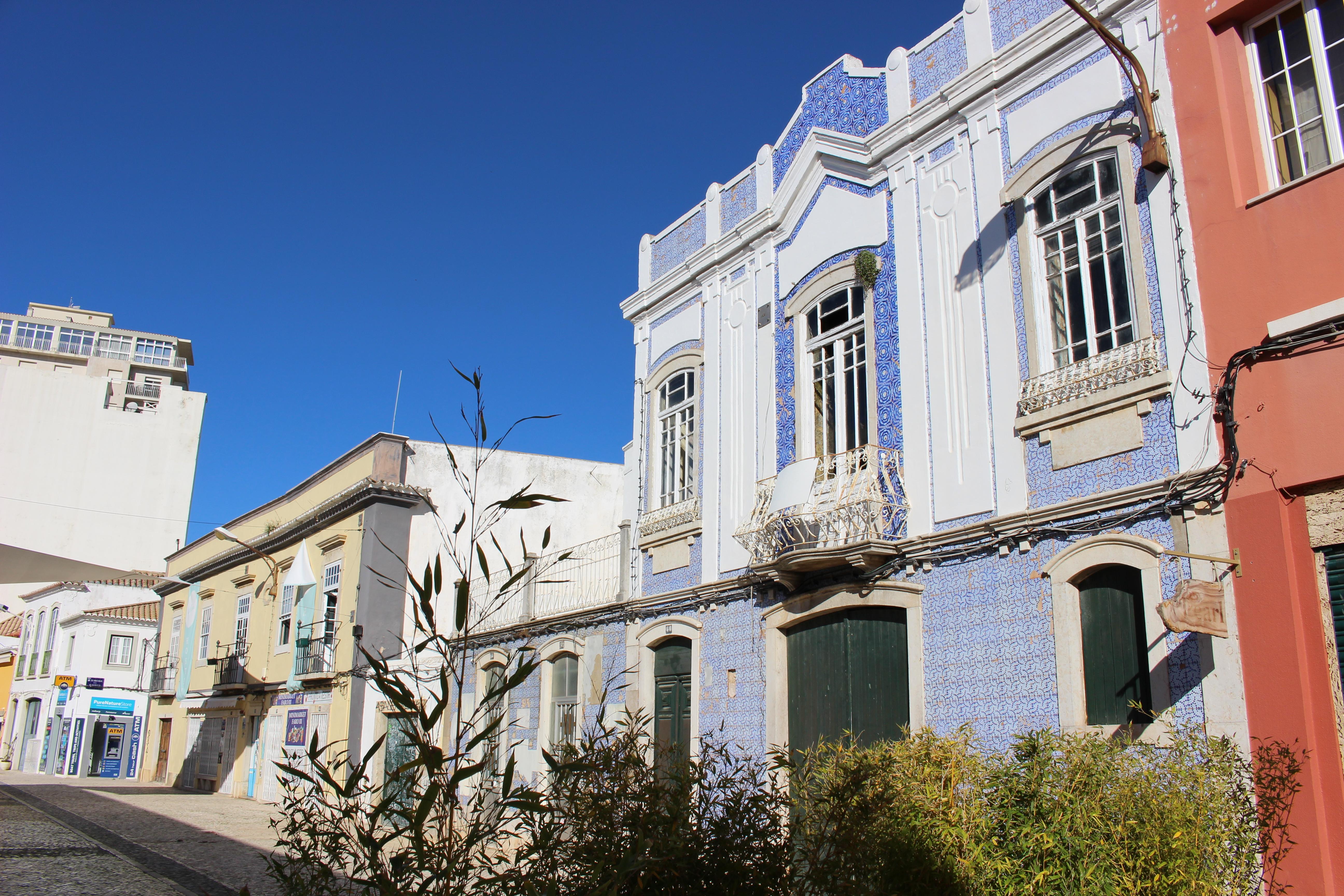 ceramika w Faro, azulejo