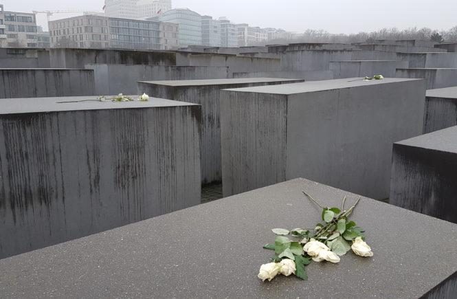 Weekend w Beerlinie - Pomnik Pomordowanych Żydów Europy