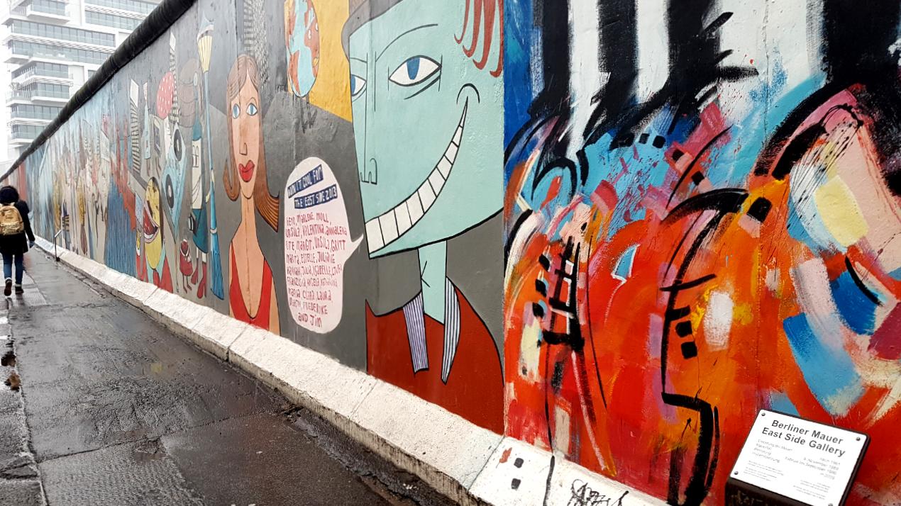 Mur Berliński Berliner Mauer, East Side Gallery