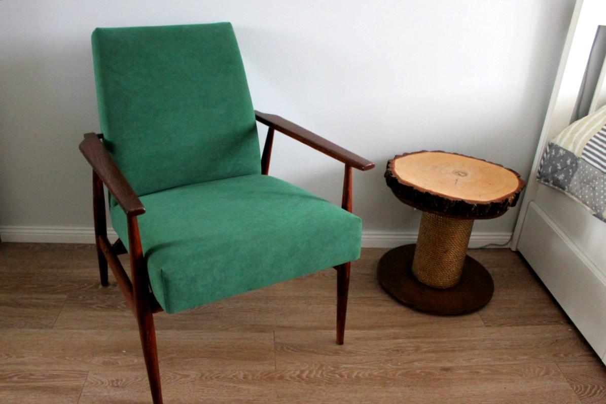 Renowacja fotela diy