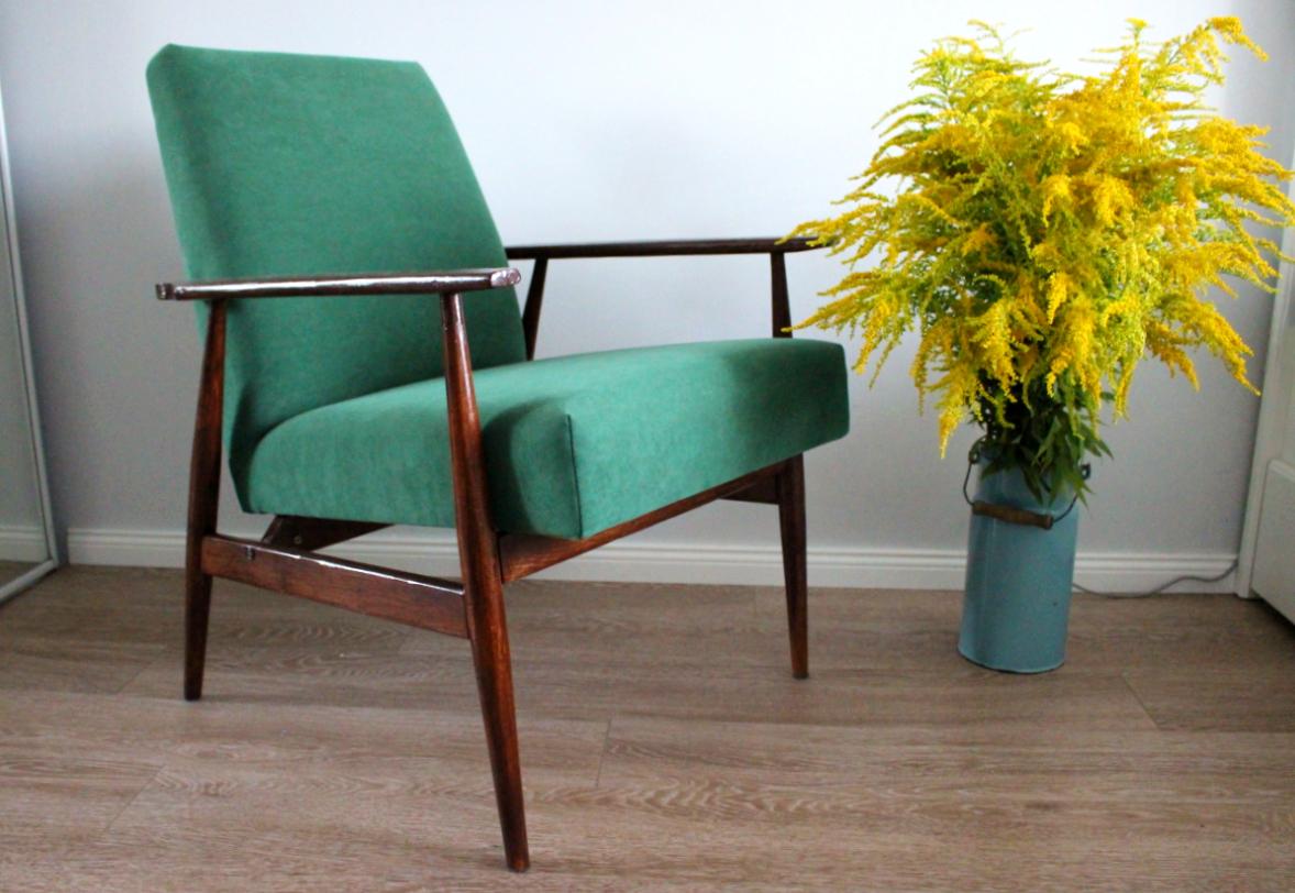 Renowacja fotela efekt ostateczny