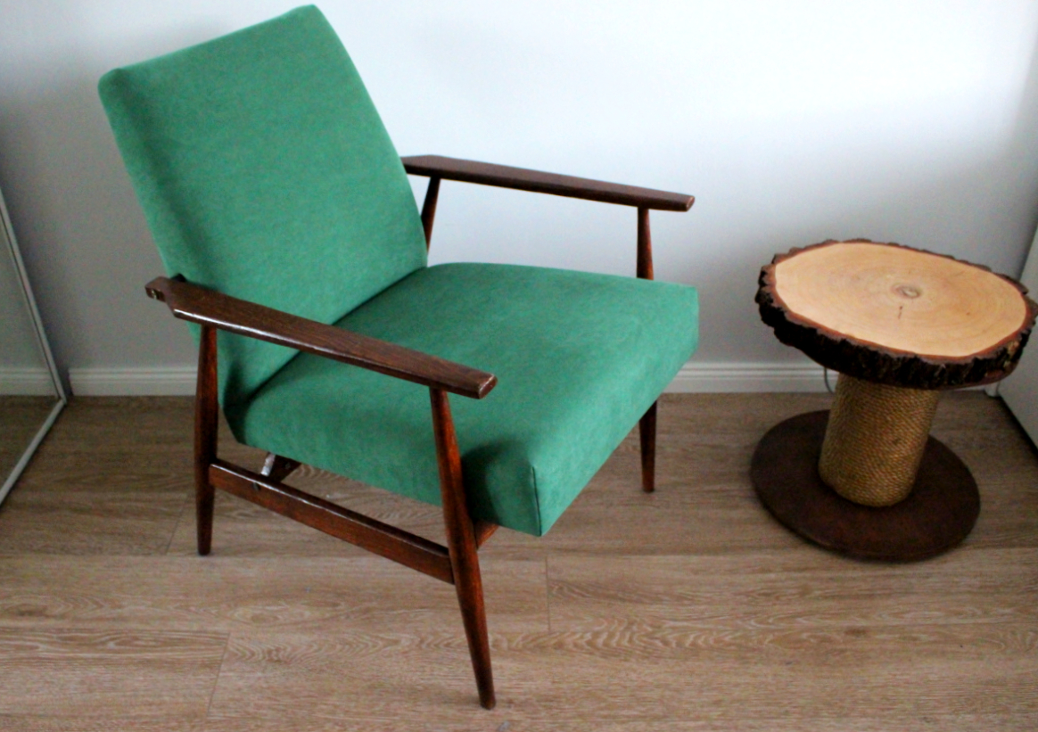 Fotel po odnowieniu
