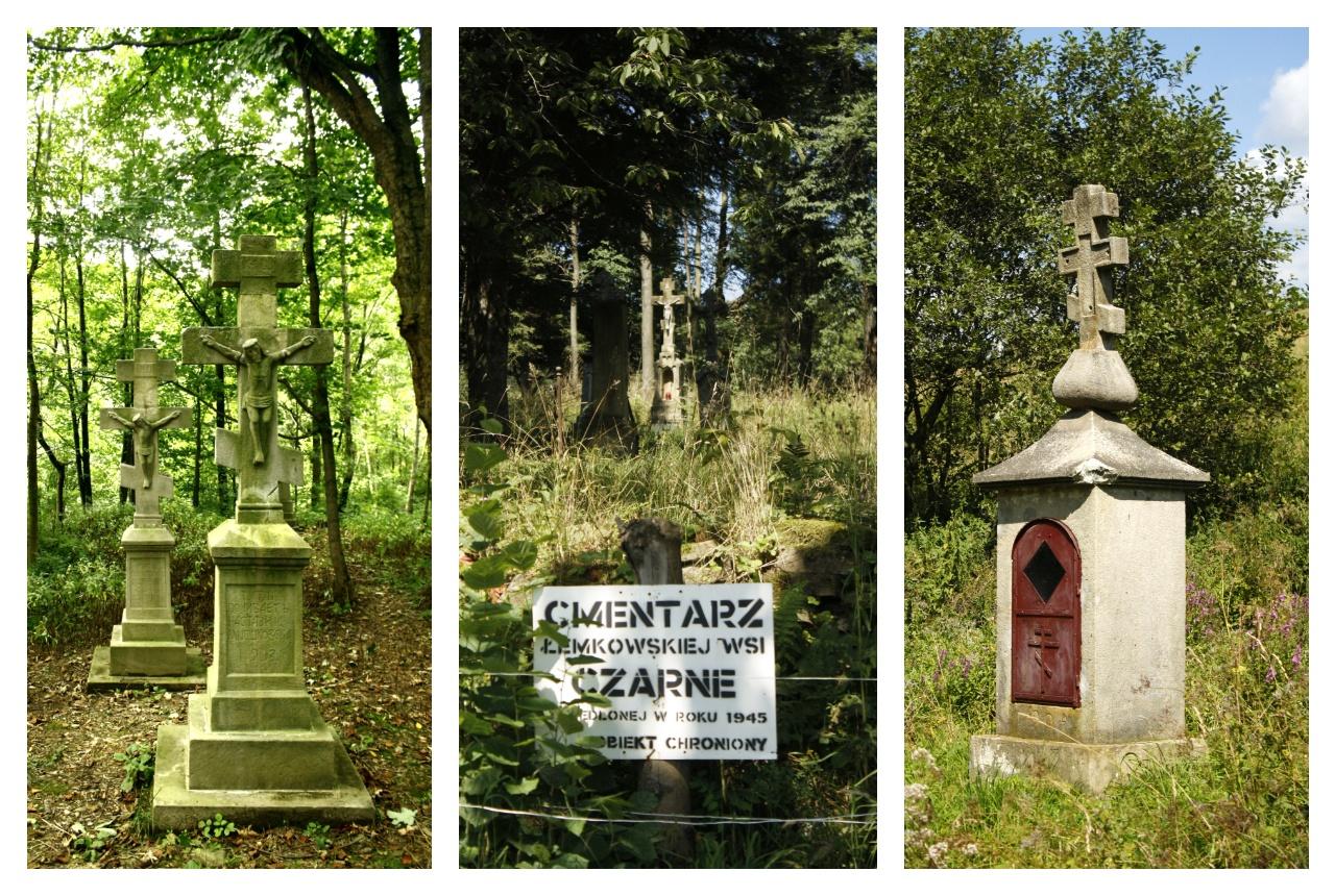 Połemkowskie krzyże i cmentarze w Beskidzie Niskim