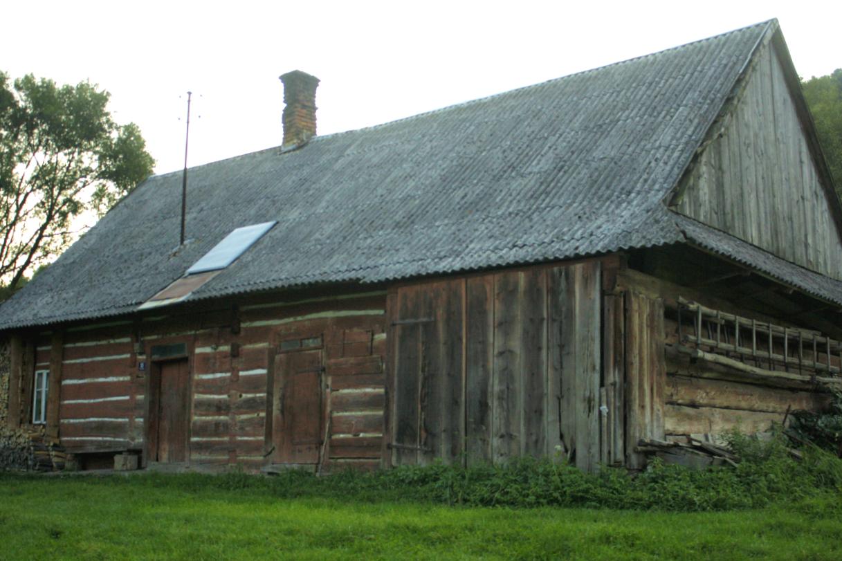 Chyża - tradycyjna chata połemkowska