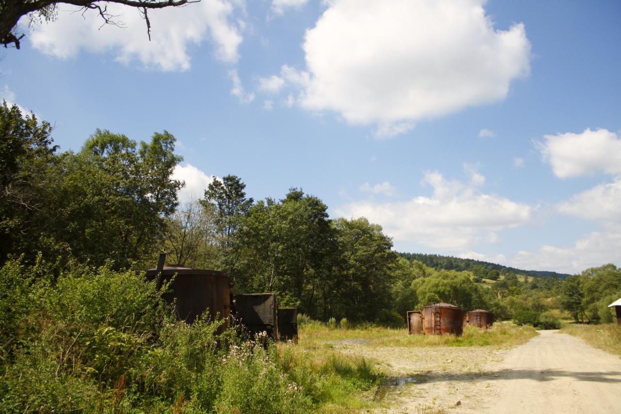 Piece do wypalania węgla drzewnego - Rostajne