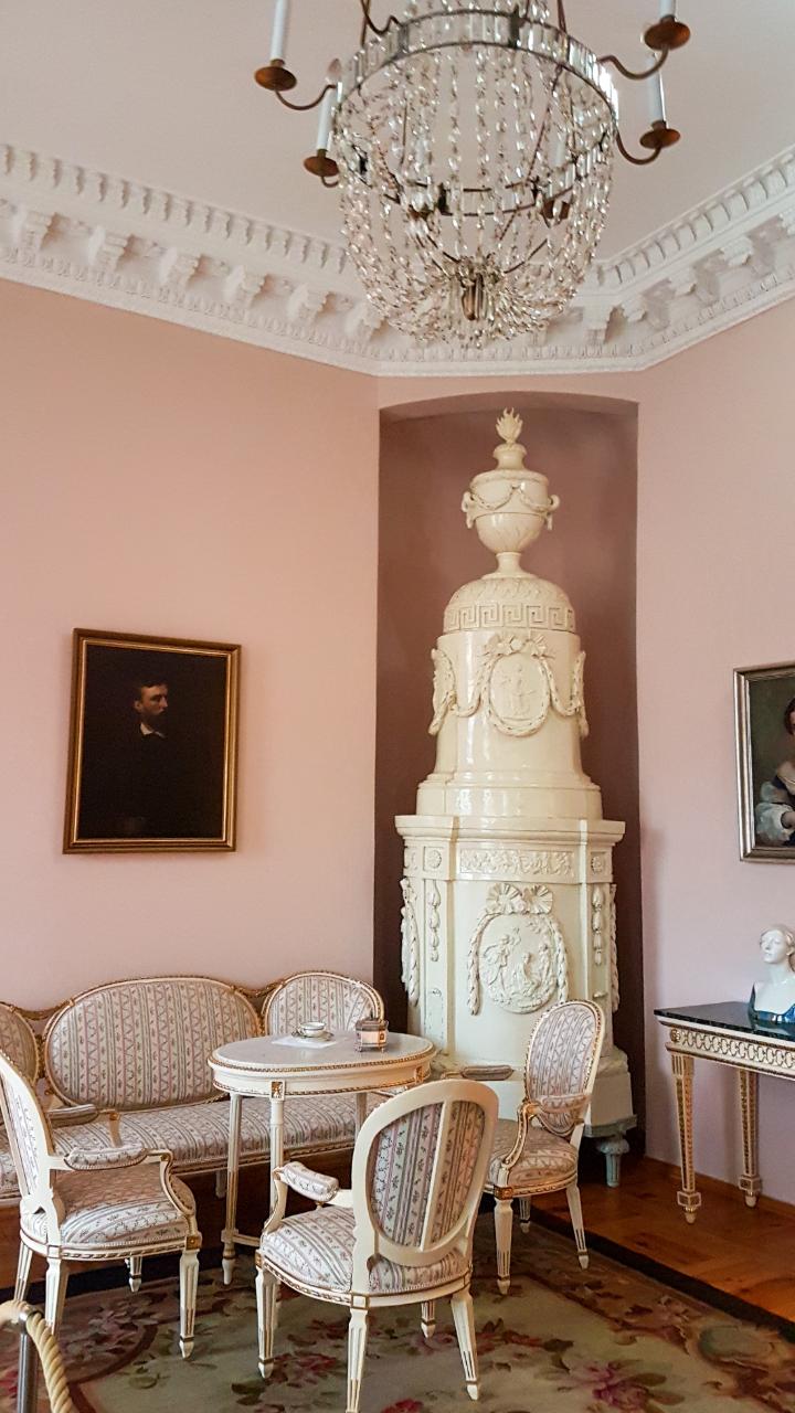 Pałac w Rogalinie - zwiedzanie wnętrza