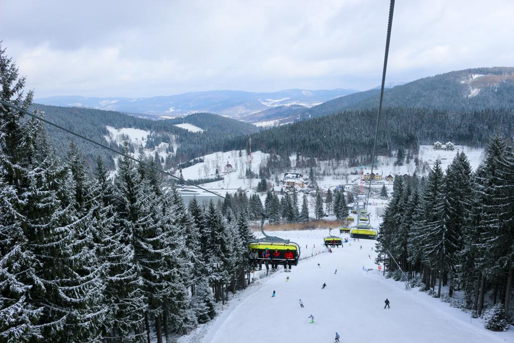 Luxtorpeda - całoroczny wyciąg narciarski.