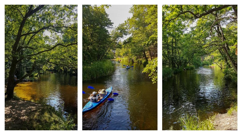 Spływ kajakowy Piaśnicą - koniec trasy