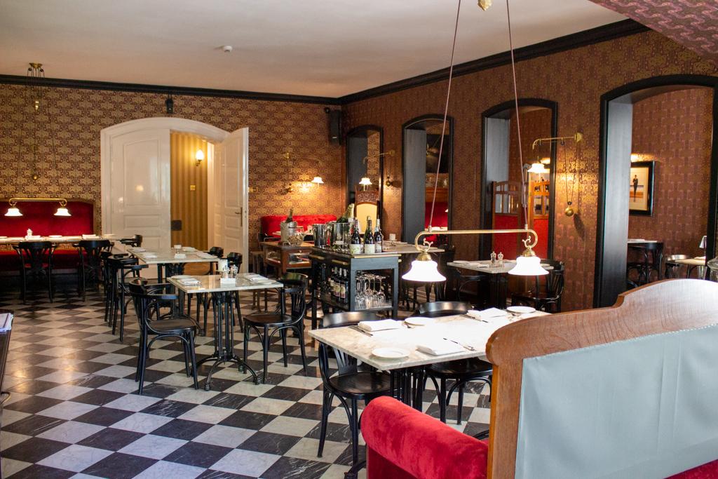 Restauracja w Pałacu Ciekocinko