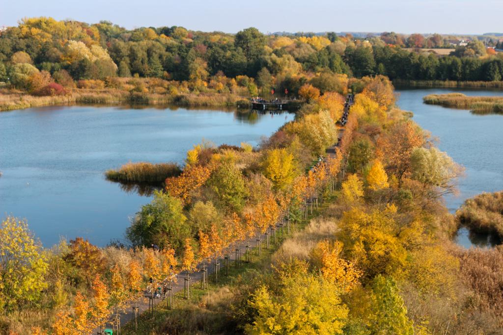 Parki w Poznaniu - Szachty - widok z wieży
